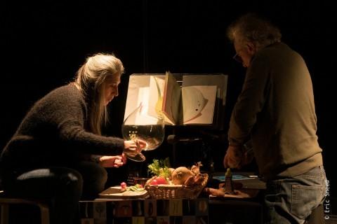 / Lecture en papillote - LECTURE MUSICALE ET GOURMANDE (dès 2 ans) Christophe Havard et Aurélie Maisonneuve